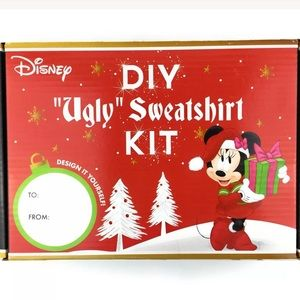 Disney DIY Ugly Sweatshirt Craft Kit Christmas